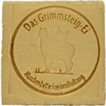 Das Grimmsteig-Ei - Alpaka (braun)