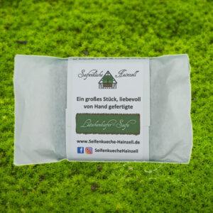Naturseife Latschenkiefer - Seifenküche Hainzell - Verpackung