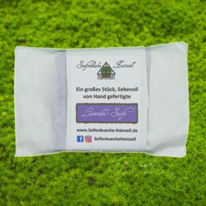Naturseife Lavendel - Seifenküche Hainzell - Verpackung