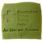 Werbeseife - DRK Fulda - Oliven-Lorbeeröl-Seife