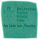 Werbeseife - DRK Fulda - Latschenkiefer-Seife
