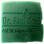 Werbeseife - Dr. Paul Groß - Latschenkiefer-Seife
