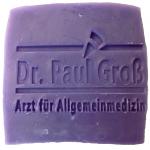Werbeseife - Dr. Paul Groß - Lavendel-Seife