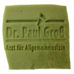 Werbeseife - Dr. Paul Groß - Oliven-Lorbeeröl-Seife
