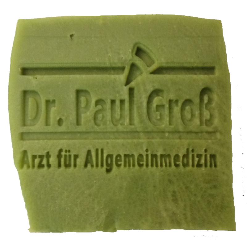 Werbeseife - Dr. Groß Oliven-Lorbeeröl