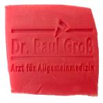 Werbeseife - Dr. Paul Groß - Rosen-Seife