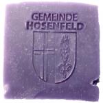Werbeseife - Gemeinde Hosenfeld - Lavendel-Seife