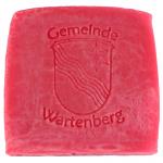 Werbeseife - Gemeinde Wartenberg - Rosen-Seife