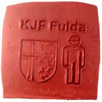 Werbeseife - Kreisjugendfeuerwehr Fulda - Kaminfeuer-Seife