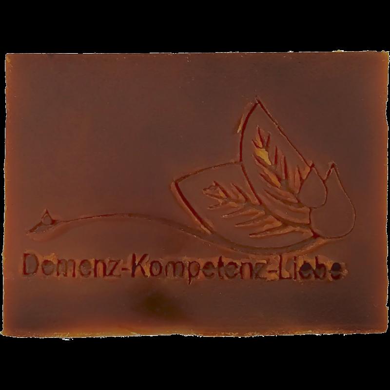 Werbeseife - Demenz-Kompetenz-Liebe - Vanille