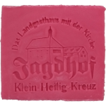 Hotelseife - Jadghof Klein-Heilig-Kreuz - Rose