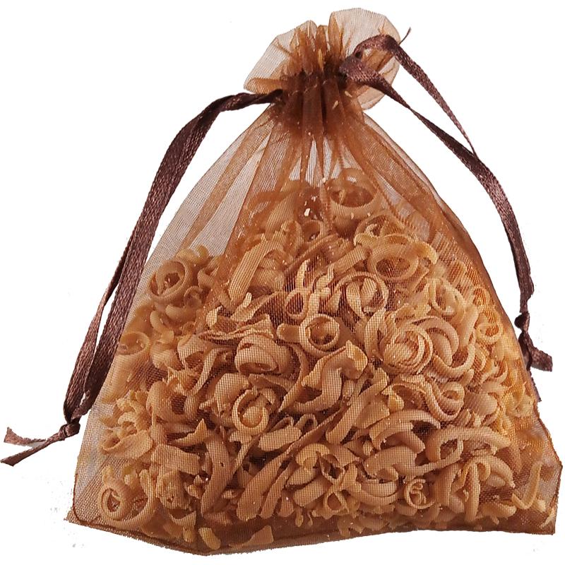 Peelingsäckchen - Mandelmilch-Honig