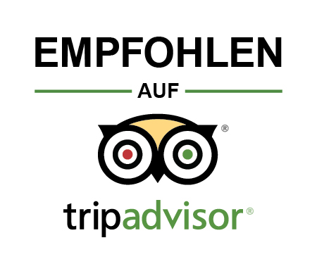 Empfholen auf Tripadvisor