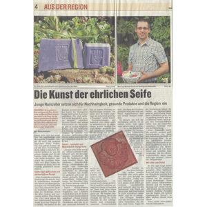 2014-08-17 - Cover - Marktkorb – Region Fulda - Die Kunst der ehrlichen Seifen